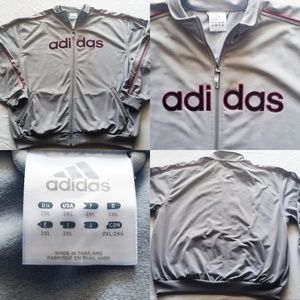 adidas Jackets & Coats - Vintage Adidas Rare Colorway zip up Sweatshirt XXL